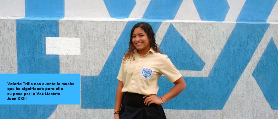 [Entrevista] Valeria Trillo: «Quiero dedicarme a la música»