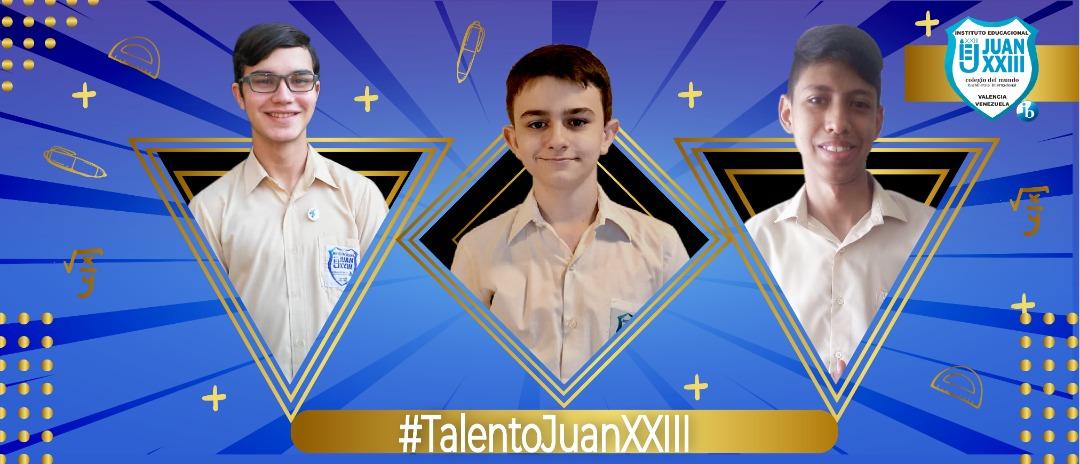 Javier López, David Brito y Manuel Brizuela obtuvieron medallas en la Olimpiada Juvenil Nacional de Matemáticas