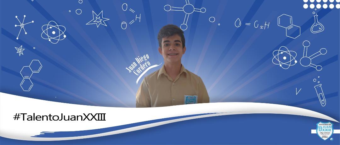 Juan Diego Cordero obtuvo 3er lugar en las Olimpiadas Nacionales de Química