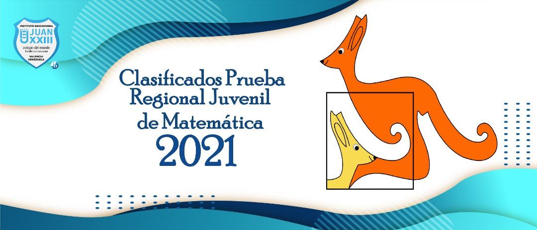20 estudiantes clasificaron a la Olimpiada Regional Juvenil de Matemática