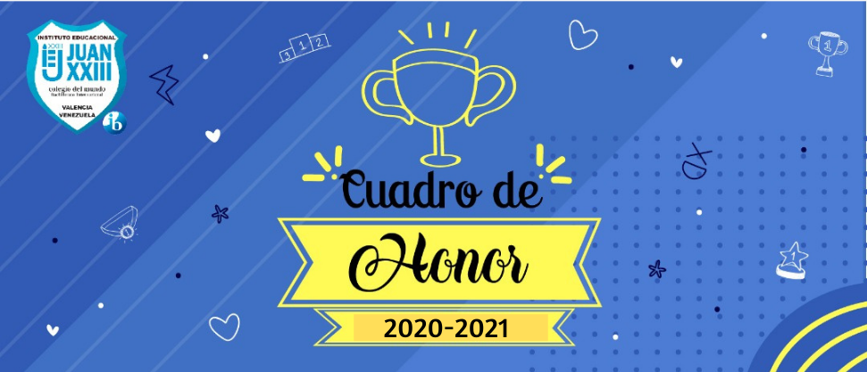 Listado Cuadro de Honor 2020-2021