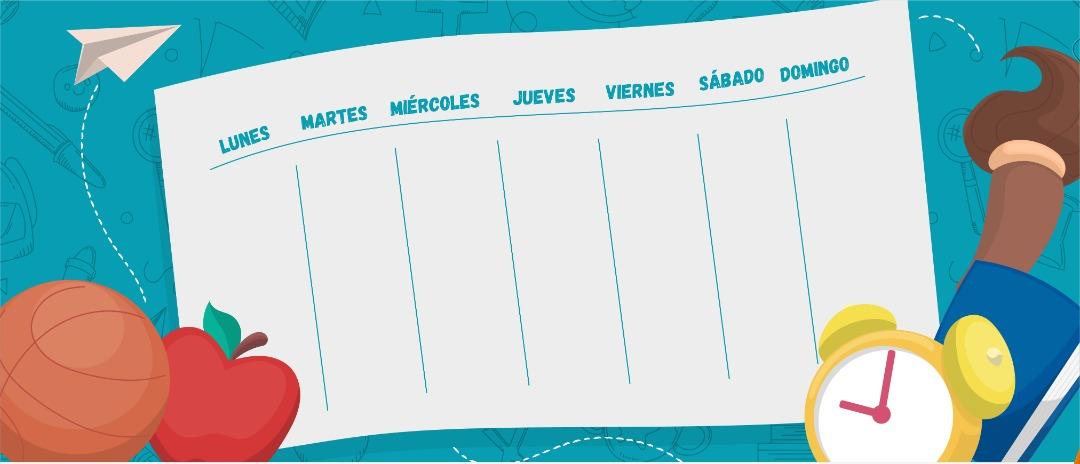 Cronograma de clases del 20 al 24 de septiembre para el PEP